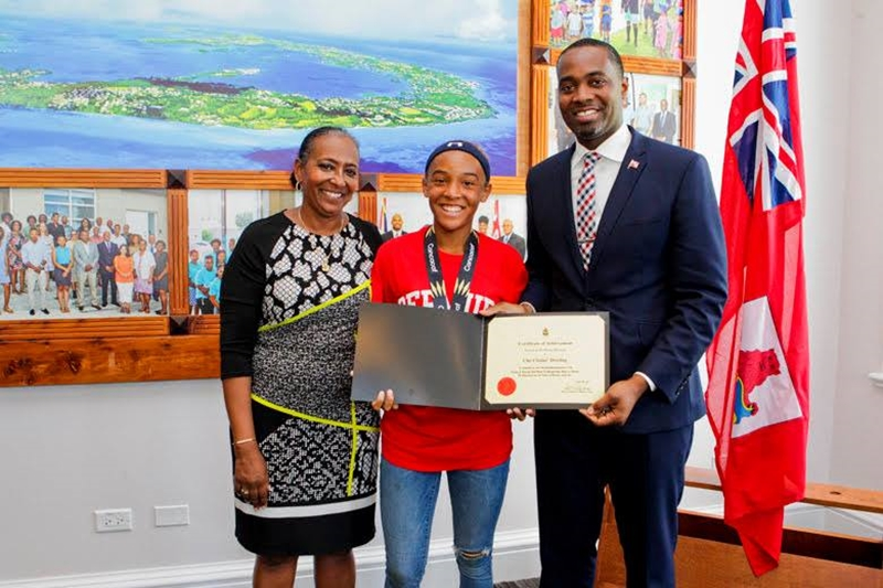 Bermuda Girls U-15 National Football Team certifications (19)