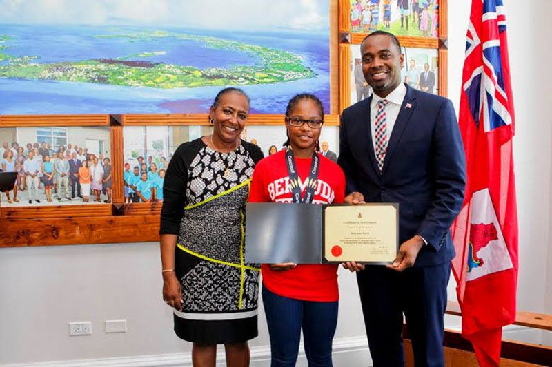 Bermuda Girls U-15 National Football Team certifications (21)