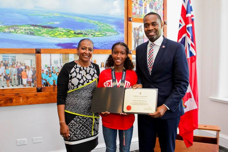 Bermuda Girls U-15 National Football Team certifications (3)