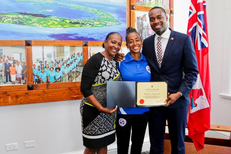 Bermuda Girls U-15 National Football Team certifications (4)
