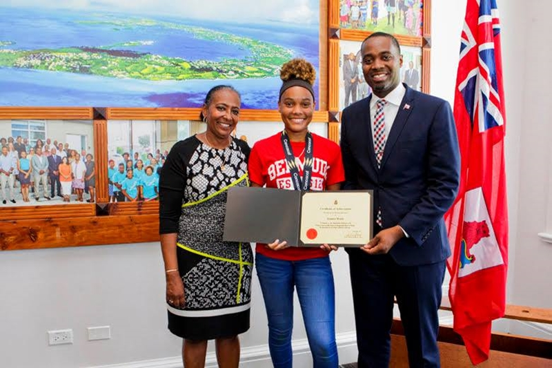 Bermuda Girls U-15 National Football Team certifications (7)