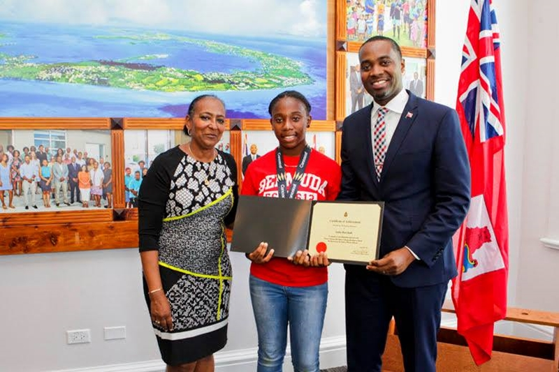 Bermuda Girls U-15 National Football Team certifications (8)