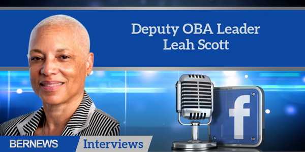 Bernews Interviews TC Deputy OBA Leader Leah Scott