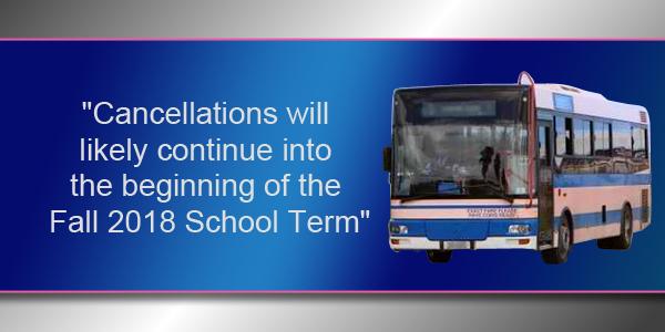Bus Service TC Bermuda Aug 20 2018