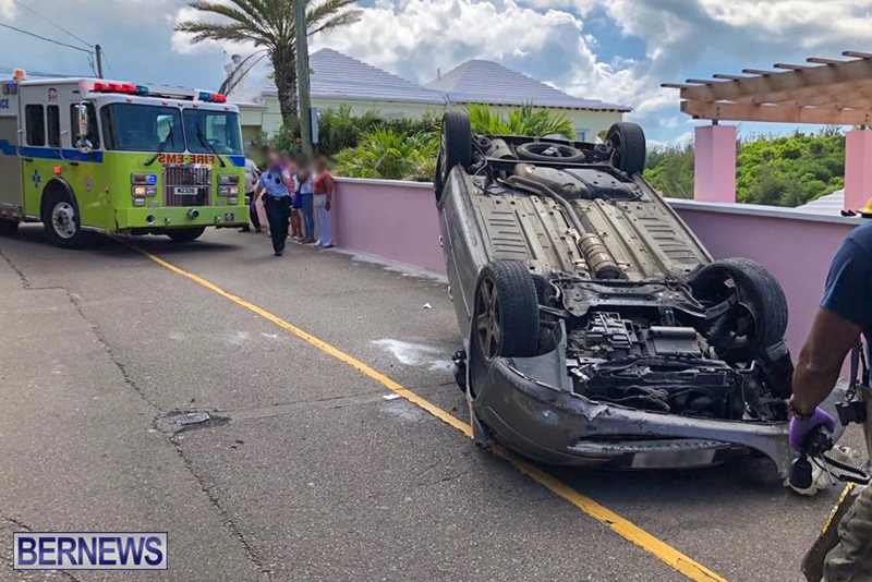 Car Collision Bermuda August 5 2018 (1)