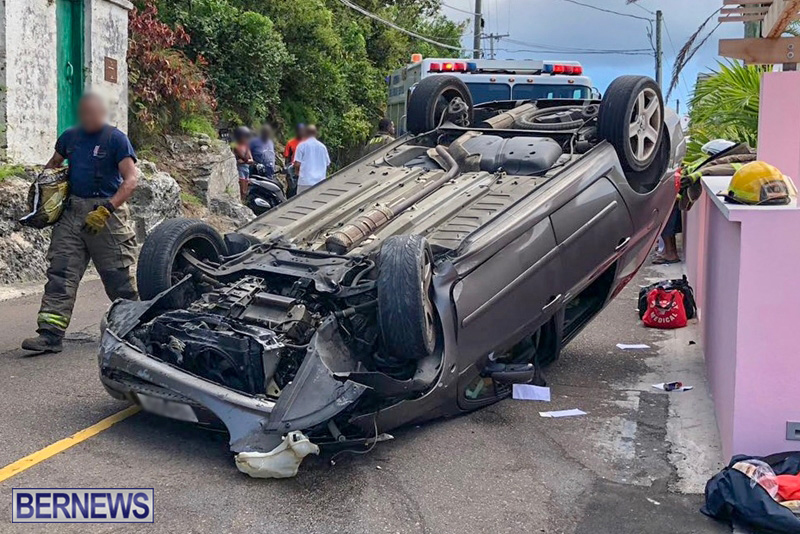 Car Collision Bermuda August 5 2018 (2)