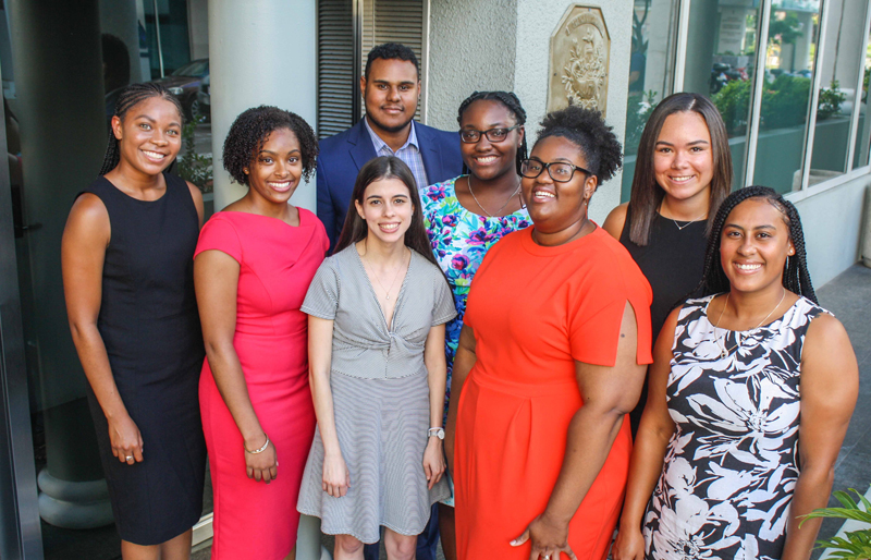 Conyers Legal Award Recipients Bermuda August 2018