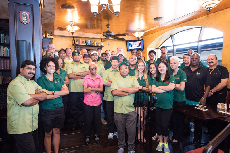 Flanagan's Irish Pub Bermuda August 2018