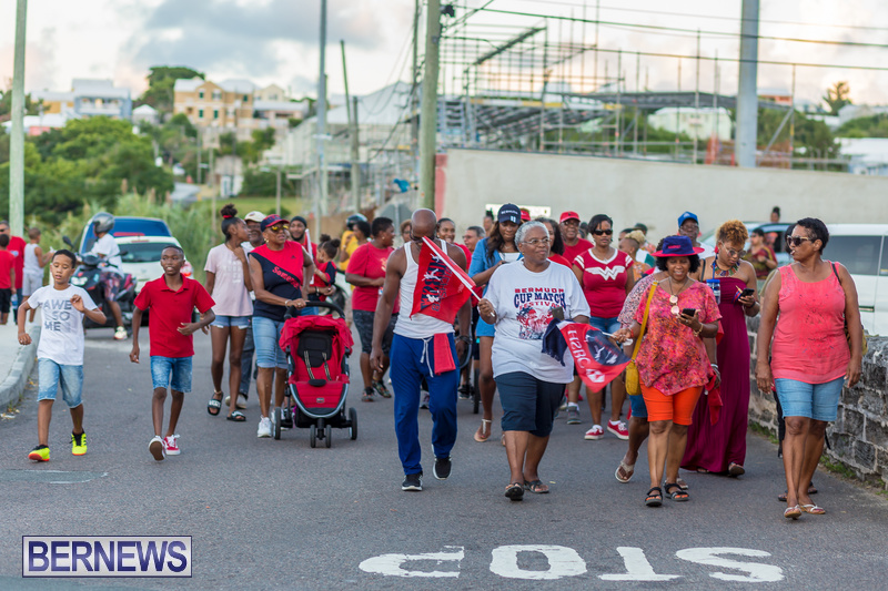 Marching Of The Cup Somerset Cricket Club Bermuda, August 17 2018 (11)