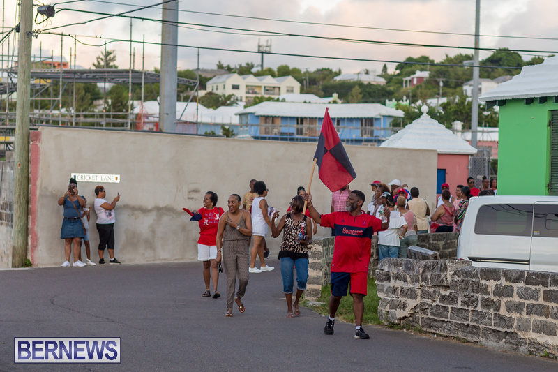 Marching Of The Cup Somerset Cricket Club Bermuda, August 17 2018 (5)