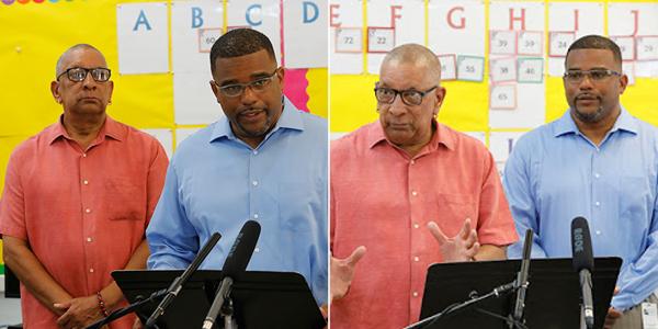 Minister Rabain And Burch Bermuda August 22 2018 (1)