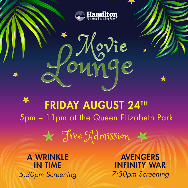 Movie Lounge Bermuda August 2018