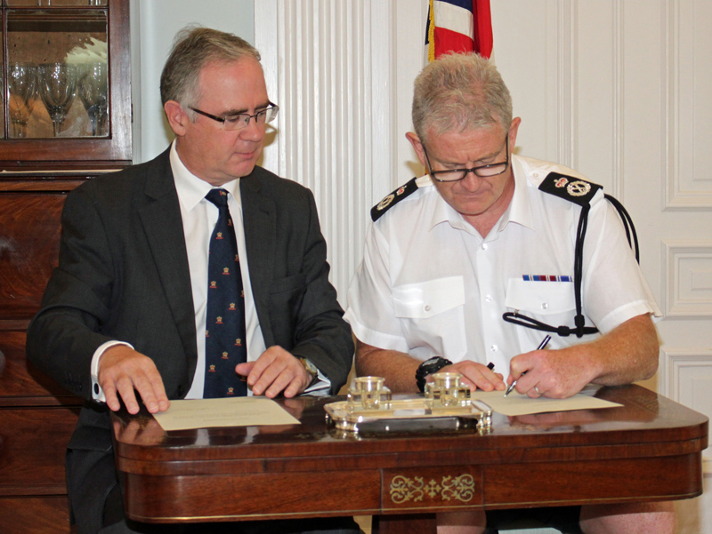 New Police Commissioner Sworn In Bermuda Aug 2018 (1)