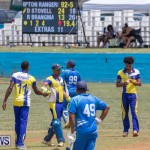 One Communications Championship Cup Premier Division Rangers vs St Davids at Wellington Oval Bermuda, August 12 2018-7505
