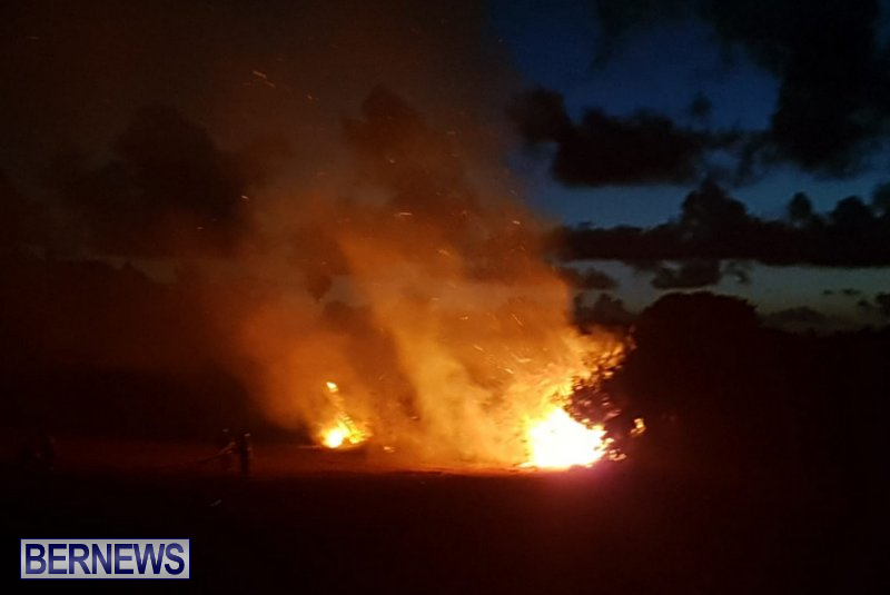 Paget Fire Bermuda, August 13 2018