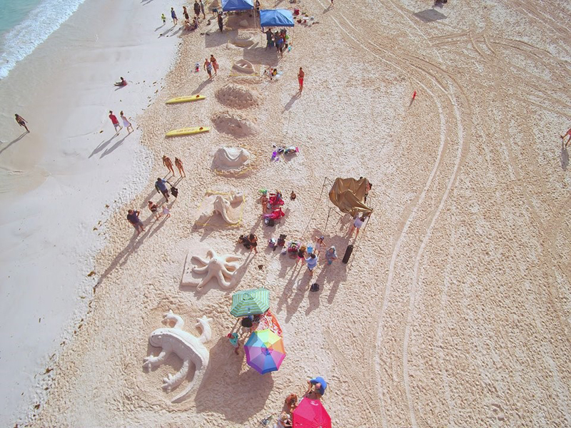 Sandcastle Competition Bermuda August 2018 (2)