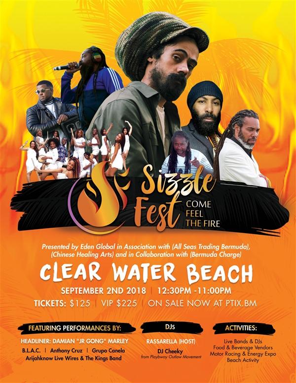 Sizzle Fest Bermuda August 2018