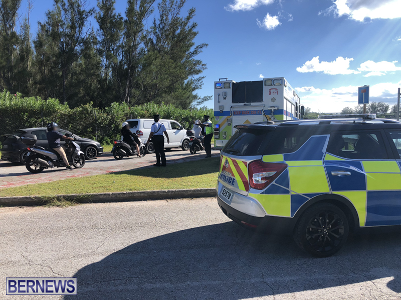 St Davids Road Collision Bermuda August 1 2018 (1)