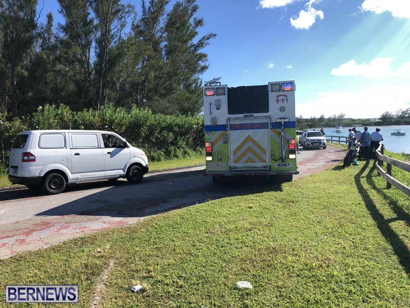 St Davids Road Collision Bermuda August 1 2018 (2)