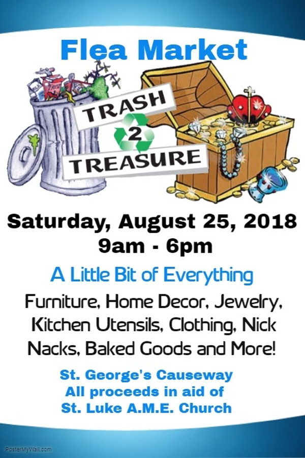 St Luke AME Church Flea Market Bermuda August 2018