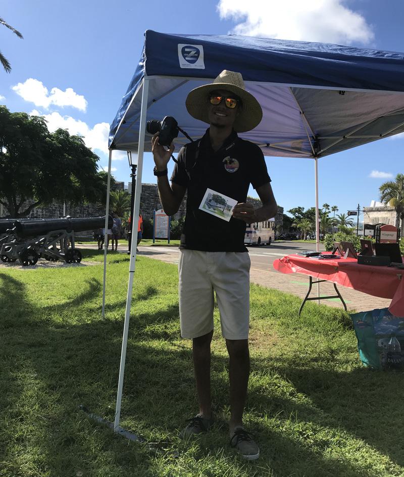 Tyler Trott Bermuda August 2018