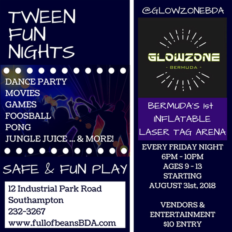 tween fun nights Bermuda August 30 2018