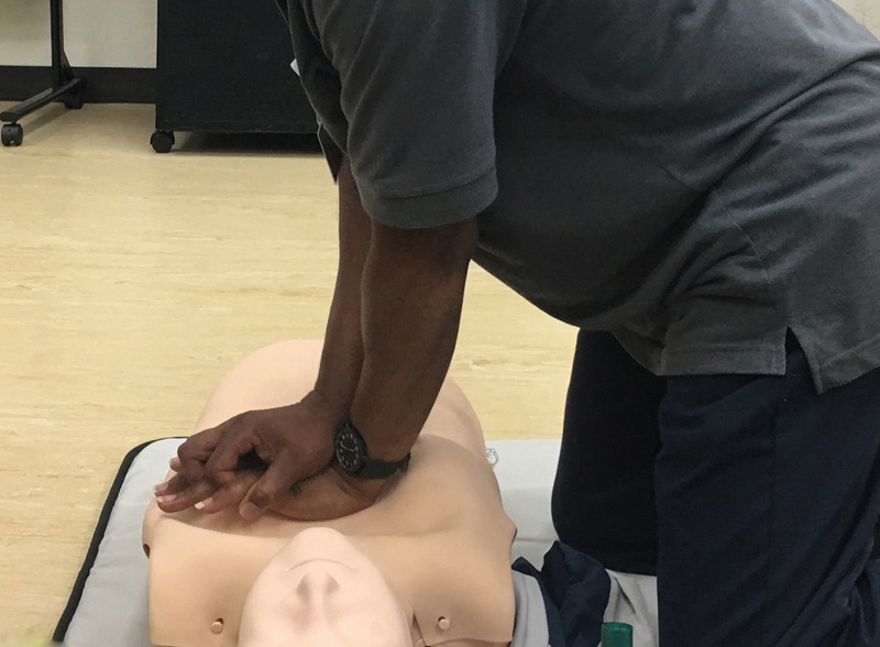 BHB CPR training Bermuda September 2018 (1)