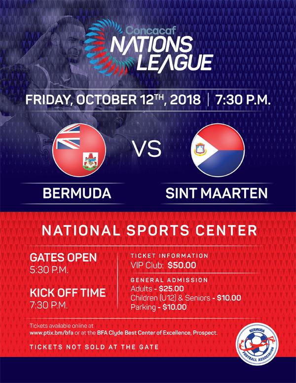 Bermuda vs Sint Maarten Sept 25 2018