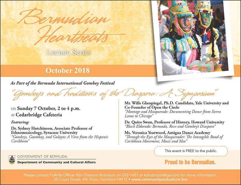 Bermudian Heartbeats September 2018