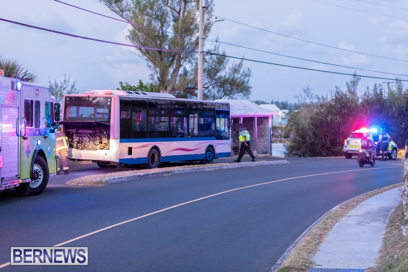 Bus Engine Fire Bermuda, September 3 2018