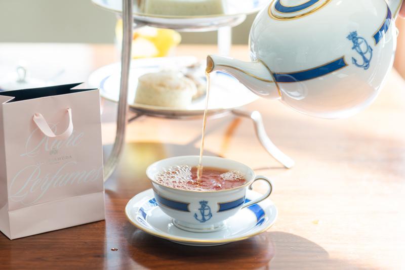 Hamilton Princess  and Lili Bermuda Tea September 2018