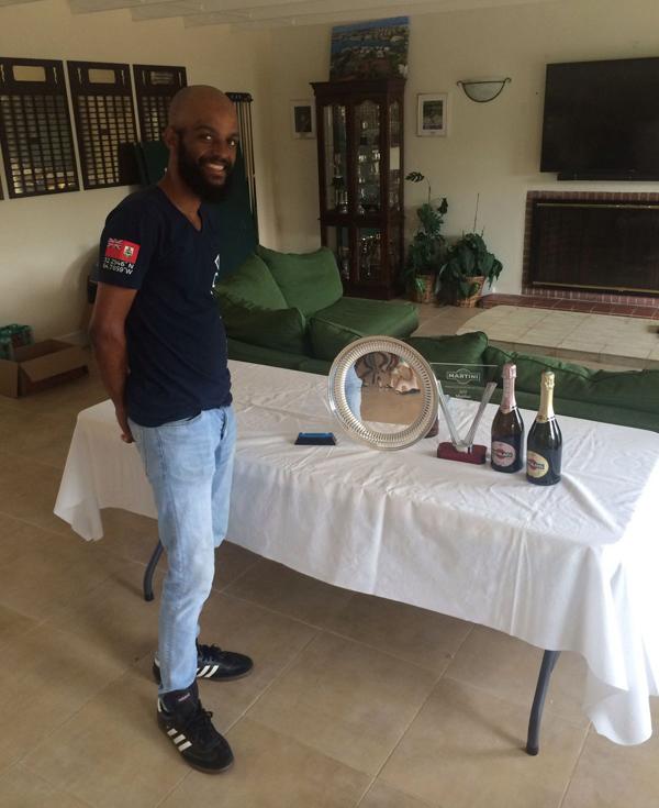 Jovan Jordan-Whitter Bermuda September 2018