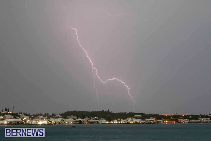 LightningSt Georges Harbour Bermuda, September 19 2018-6422-2