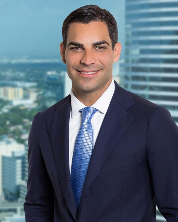 Miami Mayor Francis Suarez Bermuda Sept 20 2018
