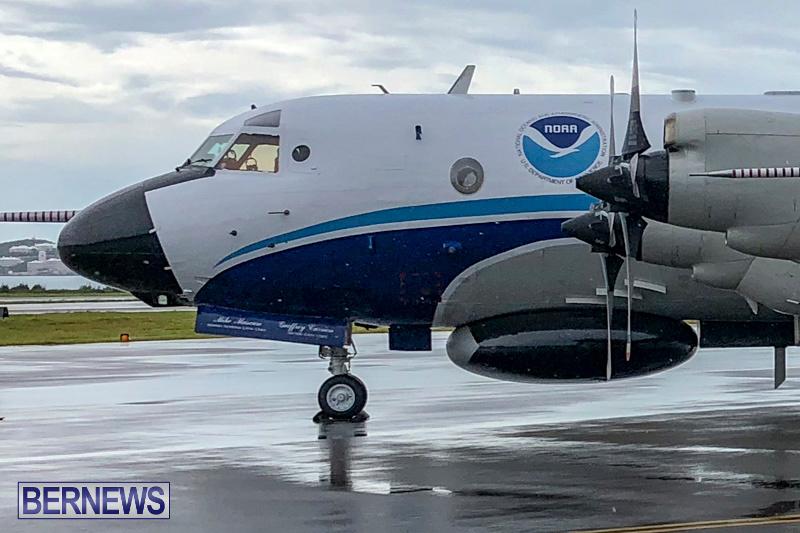 NOAA WP-3D Orion Hurricane Hunter Bermuda, September 7 2018-2-25