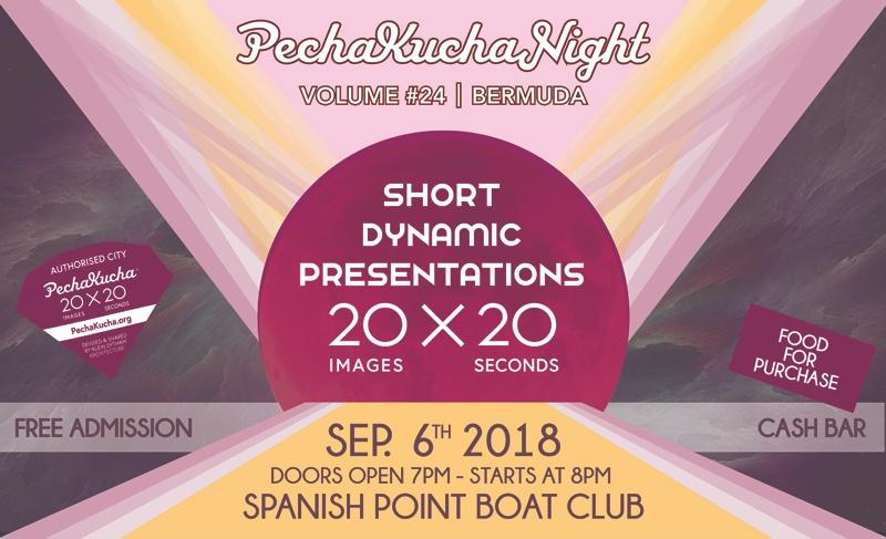 PechaKucha 24 Bermuda September 4 2018