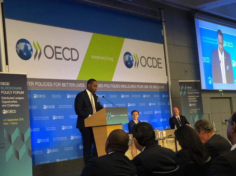 Premier Addresses OECD Bermuda Sept 4 2018