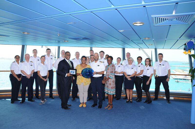 Serenade Cruise Ship Inaugural Visit Bermuda Sept 2018