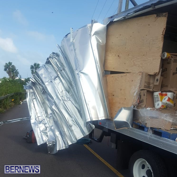 Southampton Trucks Collision Bermuda, September 11 2018 (10)