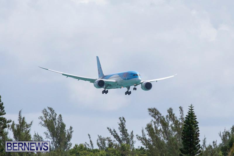 Thomson TUI Airways Diversion Bermuda, September 14 2018-6098