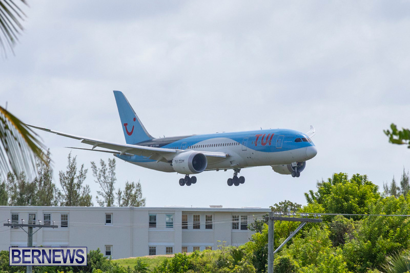 Thomson TUI Airways Diversion Bermuda, September 14 2018-6102