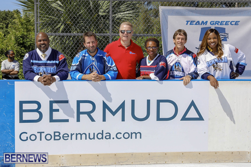 World Masters Hockey Press Launch Bermuda Sept 26 2018