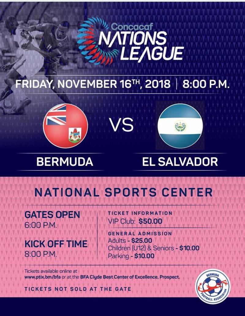 Bermuda El Salvador match