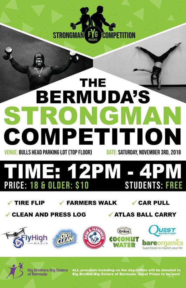 Bermuda Strongman Competition October 2018