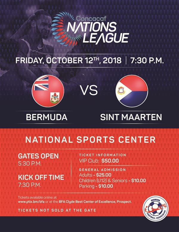 Bermuda vs Sint Maarten October 12 2018