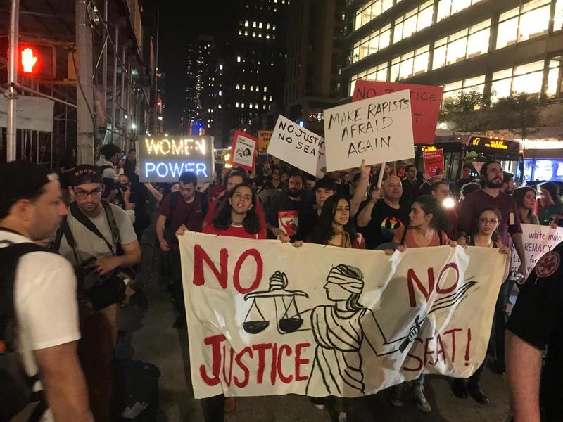 Brett Kavanaugh Protest October 2018 (2)