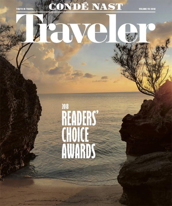 Conde Nast Traveler Bermuda Oct 2018