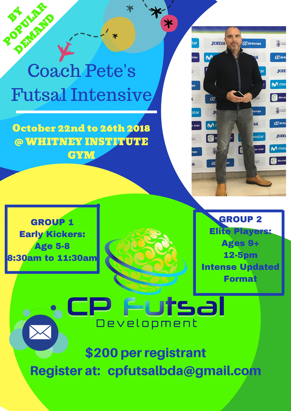 Futsal Intensive Camp October 2018