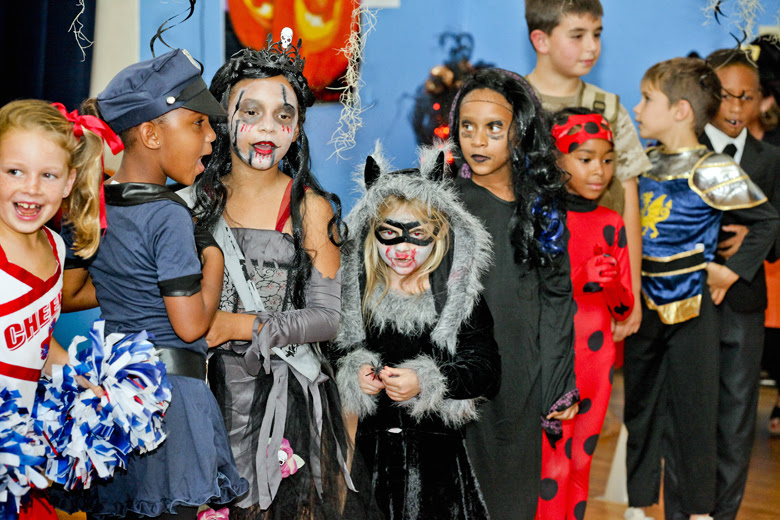 Halloween Parade at St George's Prep Bermuda Oct 31 2018 (10)
