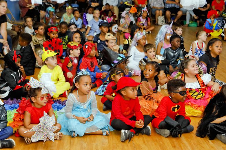 Halloween Parade at St George's Prep Bermuda Oct 31 2018 (2)